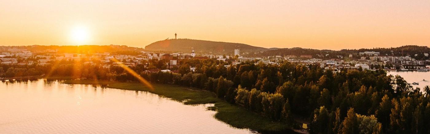 Ilmakuva Kuopiosta